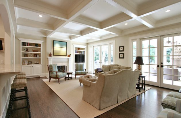 17-attractive-ideas-for-decorating-traditional-family-room (10)