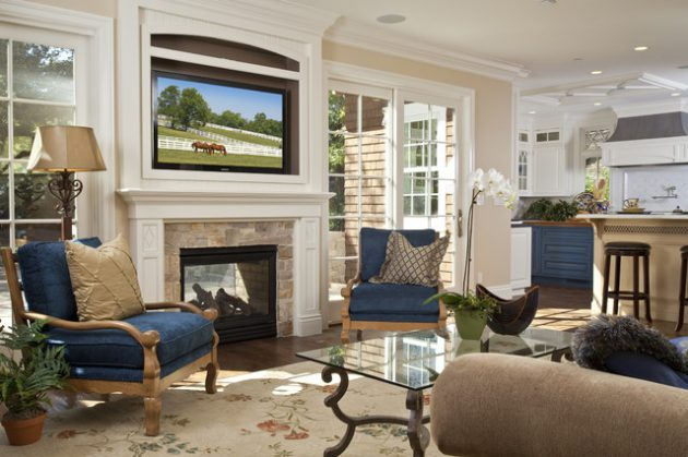 17-attractive-ideas-for-decorating-traditional-family-room (8)