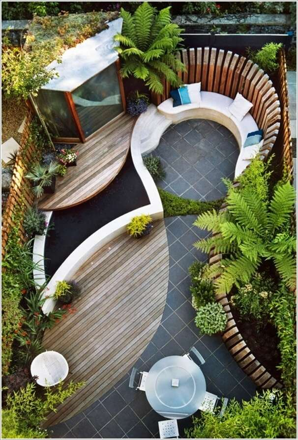 18 modern courtyard ideas (2)