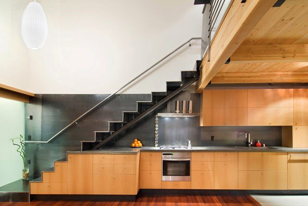 19 SPACE-SAVING UNDER STAIRS KITCHENS YOU NEED TO SEE (10)