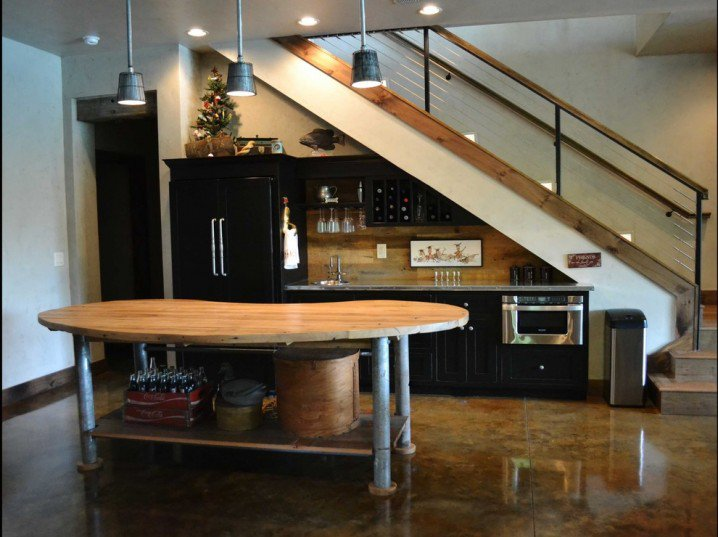 19 SPACE-SAVING UNDER STAIRS KITCHENS YOU NEED TO SEE (11)