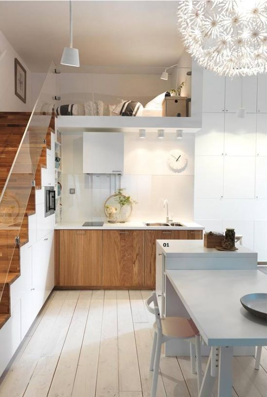 19 SPACE-SAVING UNDER STAIRS KITCHENS YOU NEED TO SEE (15)