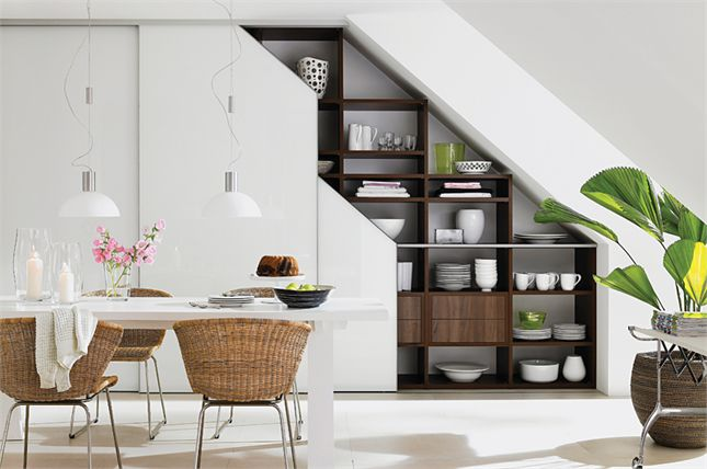 19 SPACE-SAVING UNDER STAIRS KITCHENS YOU NEED TO SEE (18)