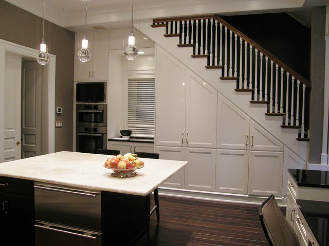 19 SPACE-SAVING UNDER STAIRS KITCHENS YOU NEED TO SEE (4)