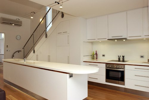 19 SPACE-SAVING UNDER STAIRS KITCHENS YOU NEED TO SEE (8)