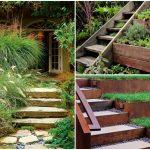 19 ไอเดียตกแต่งสวนหย่อม ในรูปแบบสวนขั้นบันได สร้างพื้นที่สีเขียว รองรับการพักผ่อนของครอบครัว