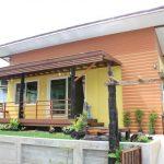 Review : สร้างบ้านหลังเล็กที่ต่างจังหวัด ดีไซน์สวย บรรยากาศอบอุ่น ในขนาด 2 ห้องนอน 1 ห้องน้ำ