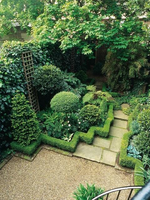 25 ideas for the garden with shrubs (12)