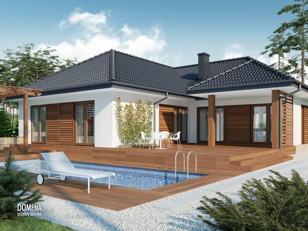 3 bedroom modern white house with elegant pool (1)