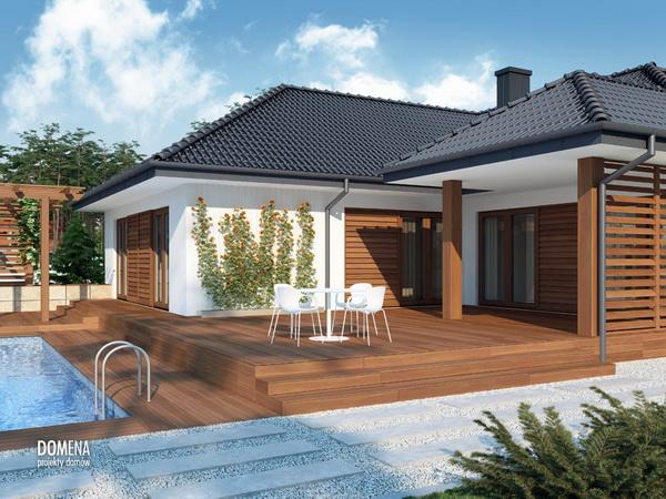3 bedroom modern white house with elegant pool (3)