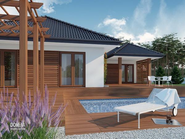 3 bedroom modern white house with elegant pool (4)