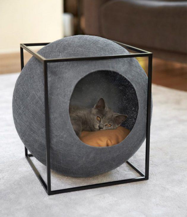 30-ideas-to-make-cool-cozy-bed-for-cat (10)