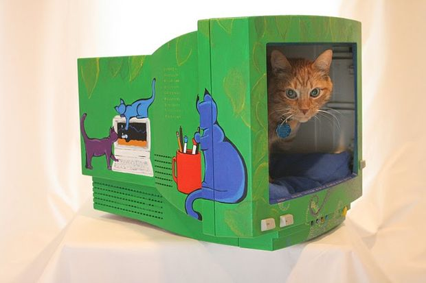 30-ideas-to-make-cool-cozy-bed-for-cat (14)