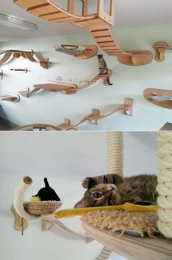 30-ideas-to-make-cool-cozy-bed-for-cat (17)