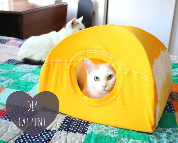 30-ideas-to-make-cool-cozy-bed-for-cat (29)