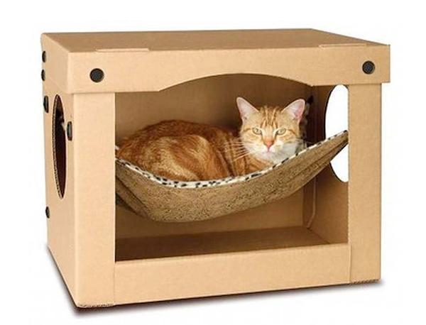30-ideas-to-make-cool-cozy-bed-for-cat (4)