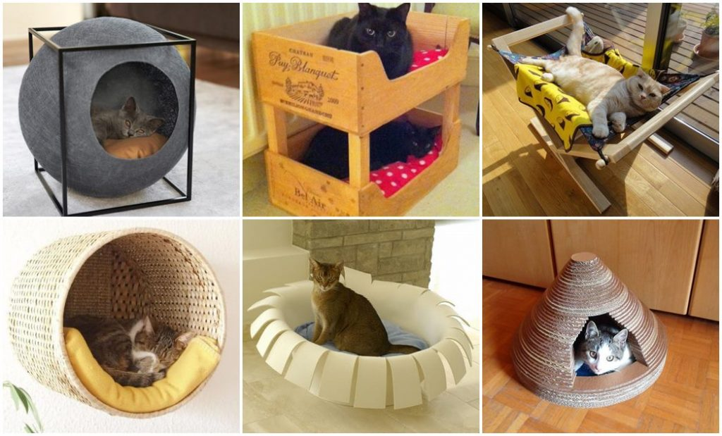30-ideas-to-make-cool-cozy-bed-for-cat (7)