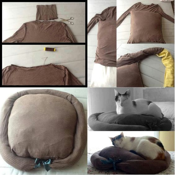 30-ideas-to-make-cool-cozy-bed-for-cat (8)