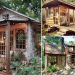 38 ไอเดีย บ้านไม้สไตล์กระท่อมกลางธรรมชาติ ขนาดเล็กกะทัดรัด แนวทางดีๆ สำหรับสร้างบ้านสวน