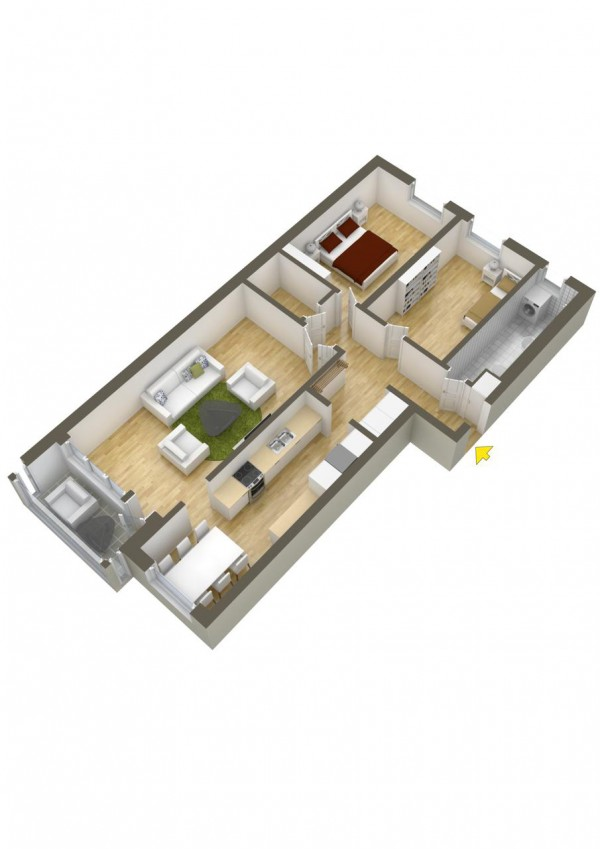 40 2 bedroom house plans (11)