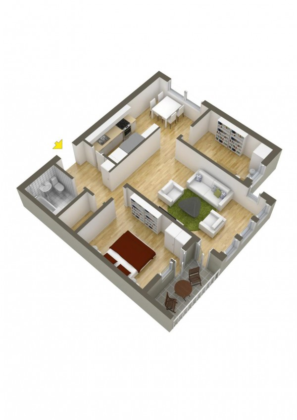 40 2 bedroom house plans (14)