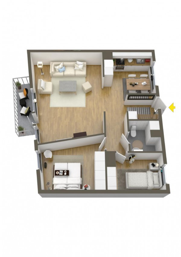 40 2 bedroom house plans (19)