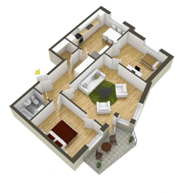 40 2 bedroom house plans (20)