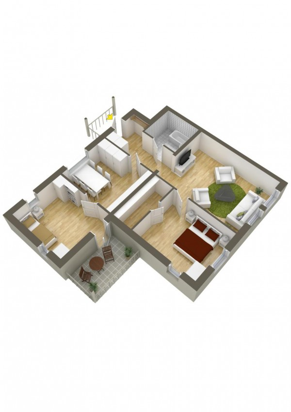 40 2 bedroom house plans (29)