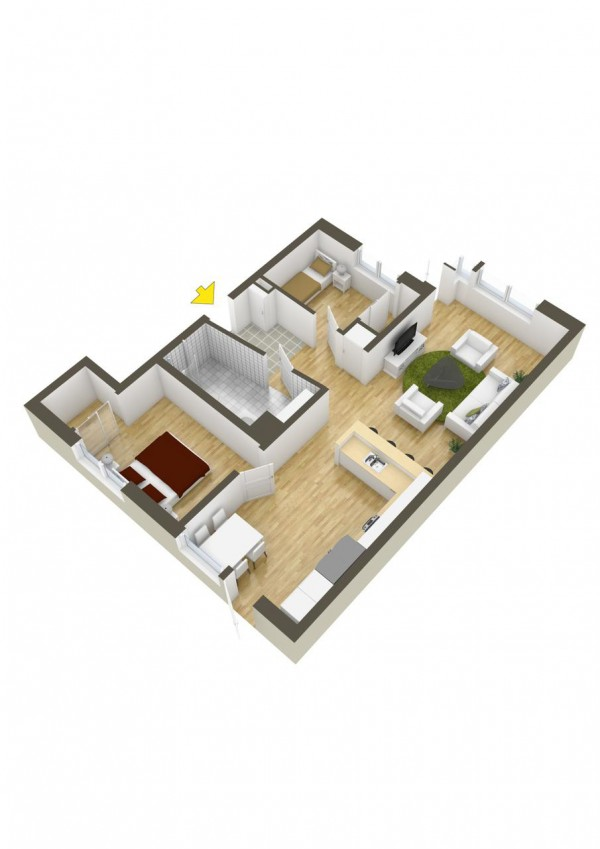 40 2 bedroom house plans (33)