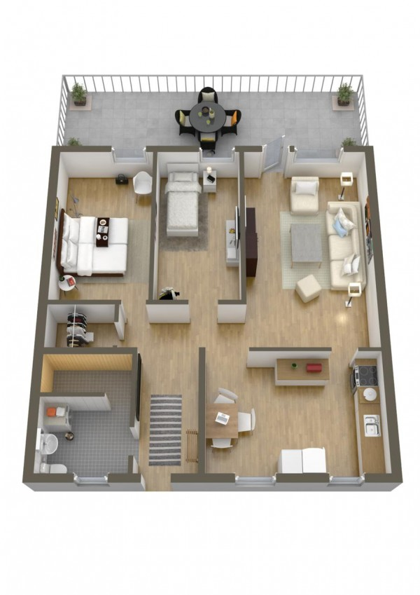 40 2 bedroom house plans (35)