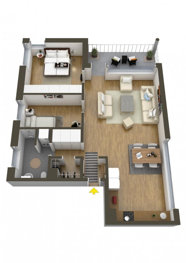 40 2 bedroom house plans (38)
