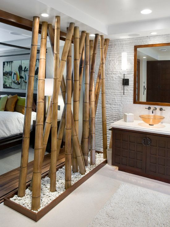 40 interior ideas for bamboo decoration (14)