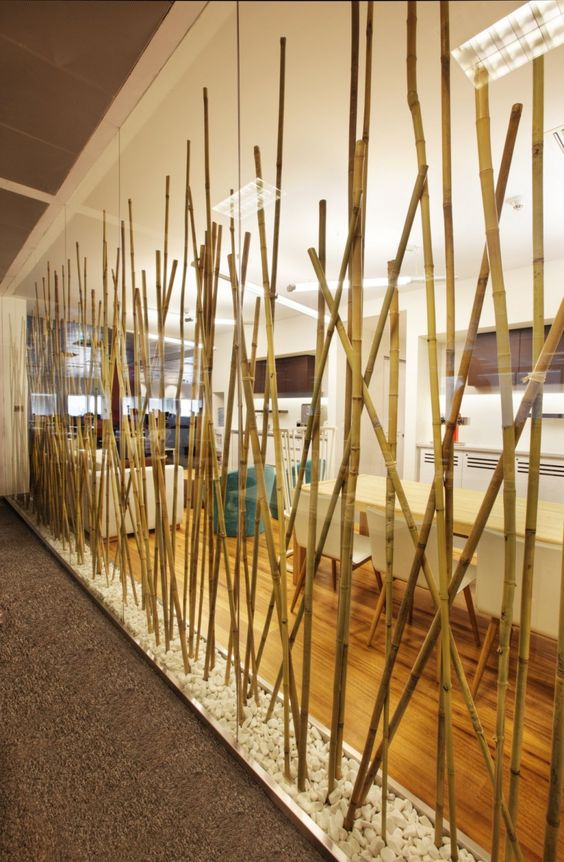 40 interior ideas for bamboo decoration (16)