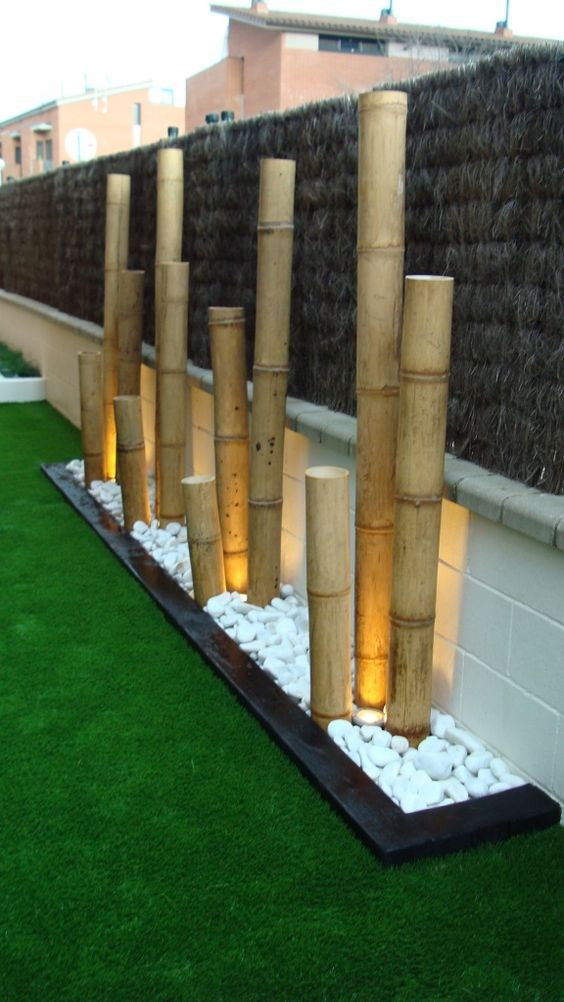 40 interior ideas for bamboo decoration (6)