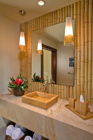 40 interior ideas for bamboo decoration (9)