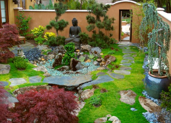 42 japanese zen garden ideas (22)