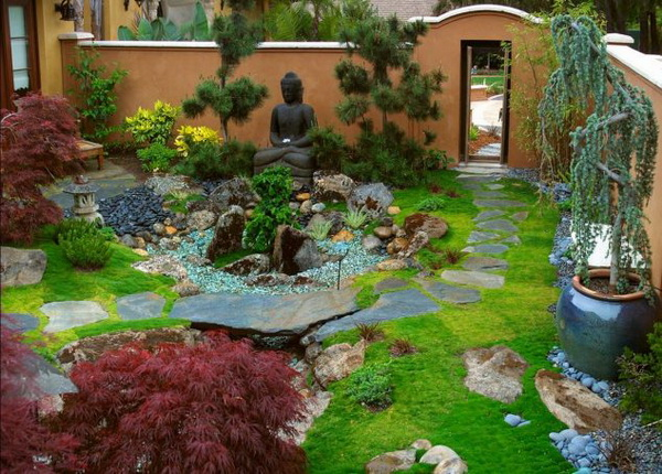 42 japanese zen garden ideas (6)