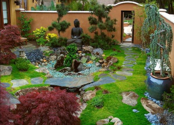 42 japanese zen garden ideas (6)