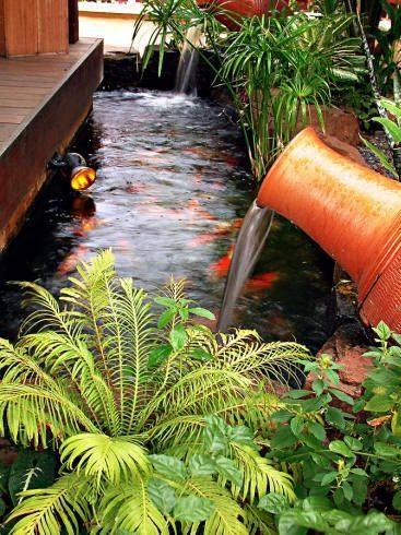46 beautiful fish pond ideas (15)