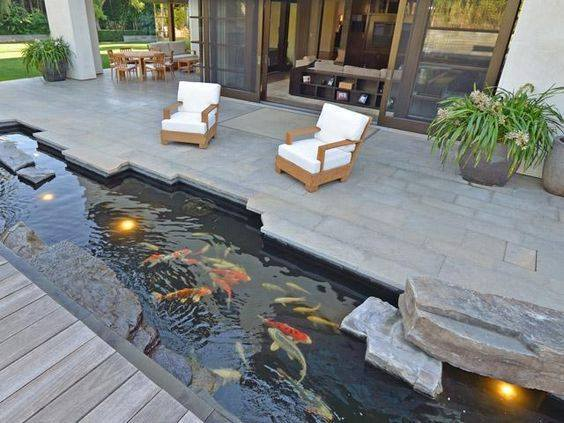 46 beautiful fish pond ideas (17)