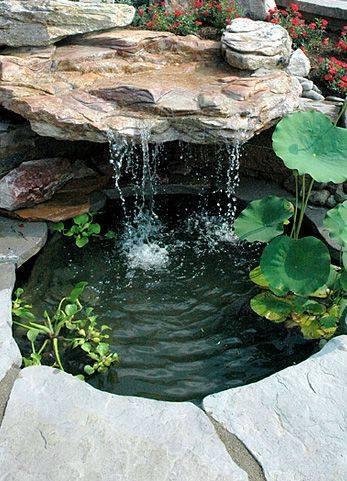 46 beautiful fish pond ideas (18)