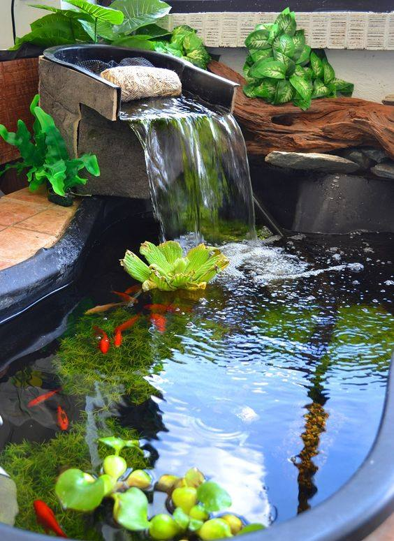 46 beautiful fish pond ideas (2)