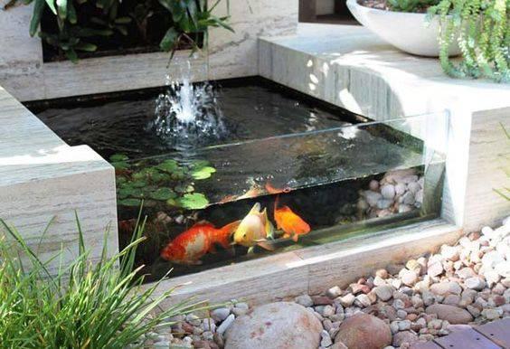 46 beautiful fish pond ideas (20)