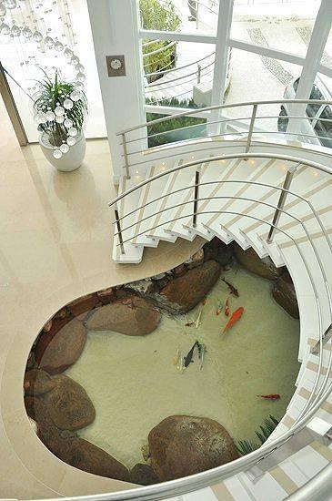 46 beautiful fish pond ideas (25)