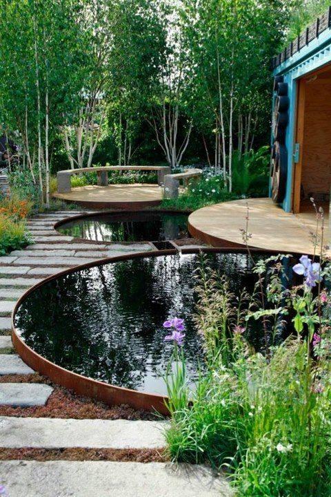 46 beautiful fish pond ideas (35)