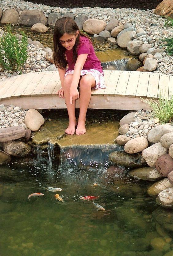 46 beautiful fish pond ideas (38)