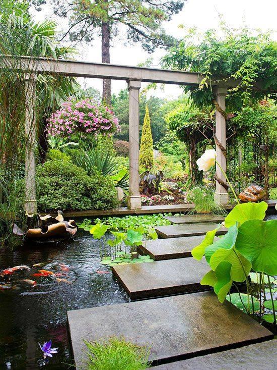 46 beautiful fish pond ideas (4)
