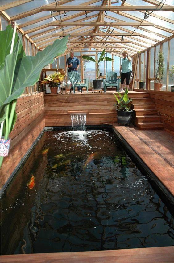 46 beautiful fish pond ideas (44)