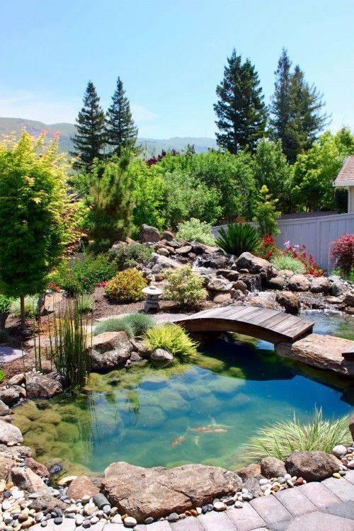 46 beautiful fish pond ideas (45)