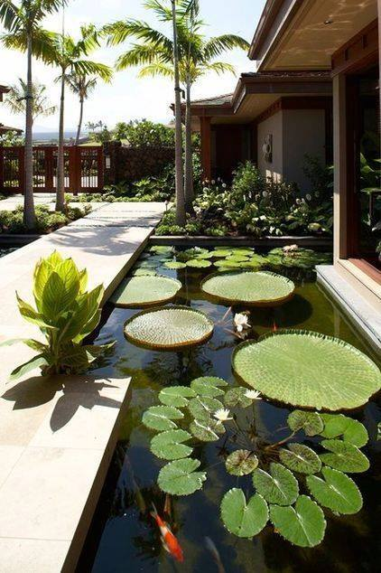 46 beautiful fish pond ideas (8)